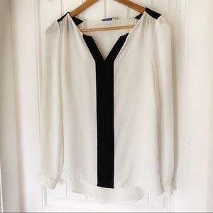 RICKI'S black and white blouse - size 0